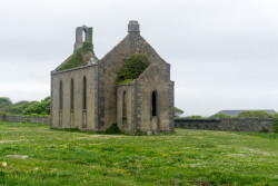 An old church on Inis Mor