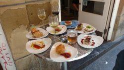 Bar Zeruko had really fantastic food, probably the best pintxos we had.