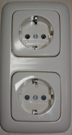 Most European outlets are this type/