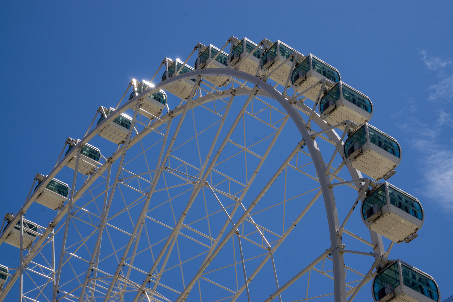 Málaga's new ferris wheel is the biggest in Europe.