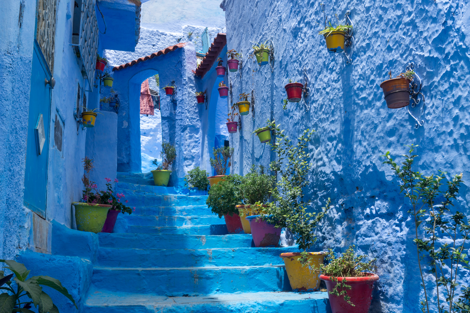 One of the most famous allies in Chefchaouen's medina