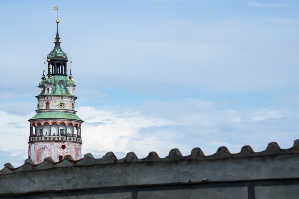 Another view of Český Krumlov State Castle