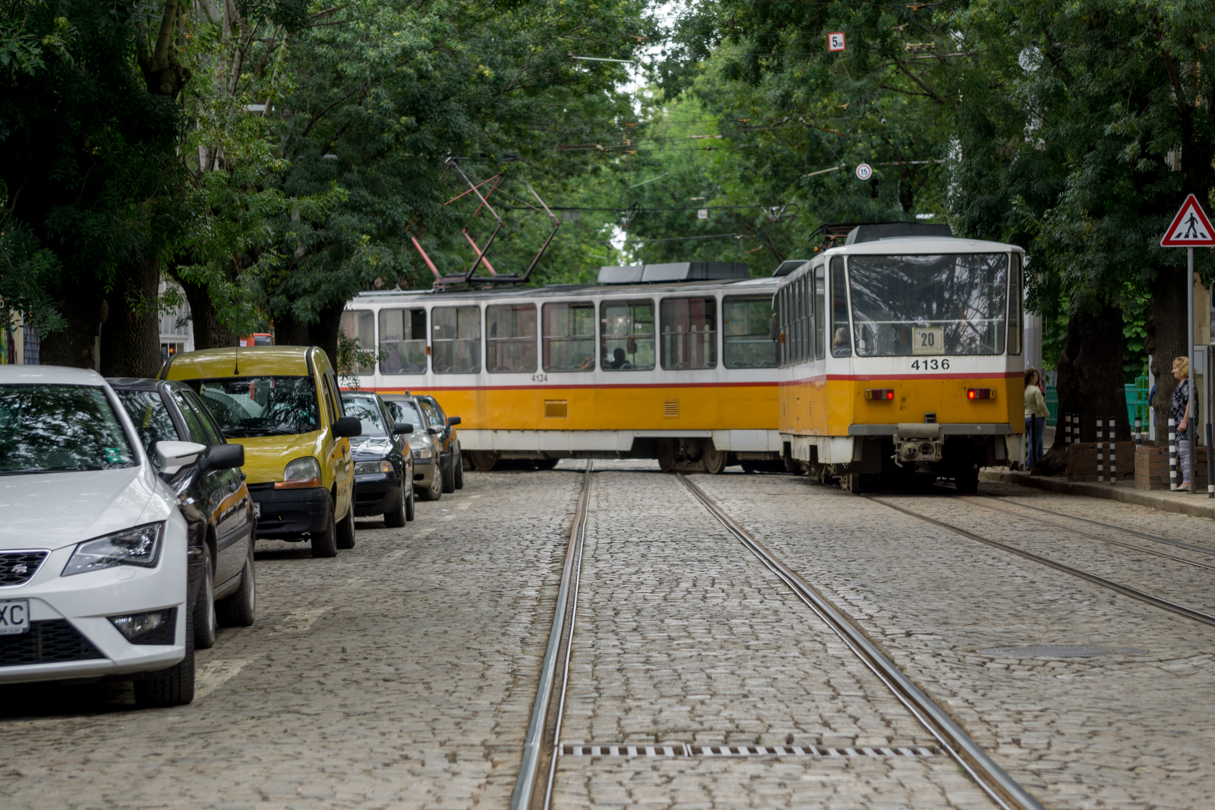 Bulgaria: Tram in Sofia