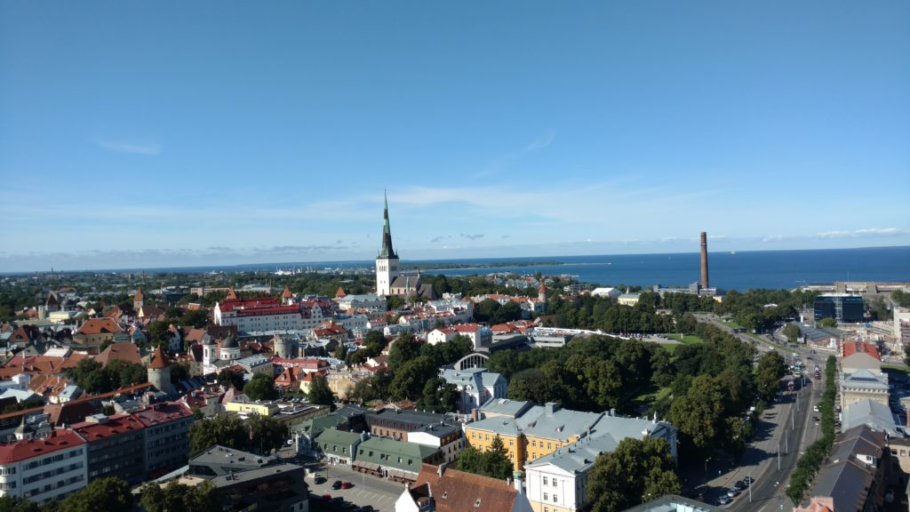 Tallinn, as viewed from the KGB Museum